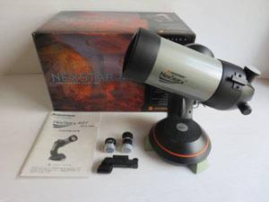 CELESTRONの天体望遠鏡 付属品一式
