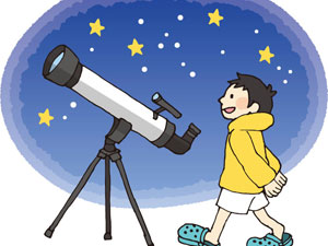 天体望遠鏡の組立方法