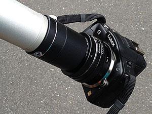 天体撮影カメラ使い方