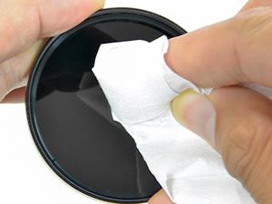 レンズの清掃には専用のクリーナーなどを使いましょう