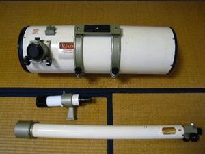 天体望遠鏡 分解